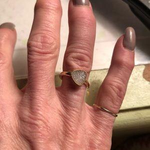 Jewelry - 14k druzy ring